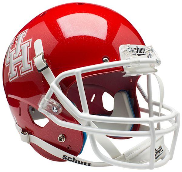 Houston Cougars Full XP Replica Football Helmet Schutt