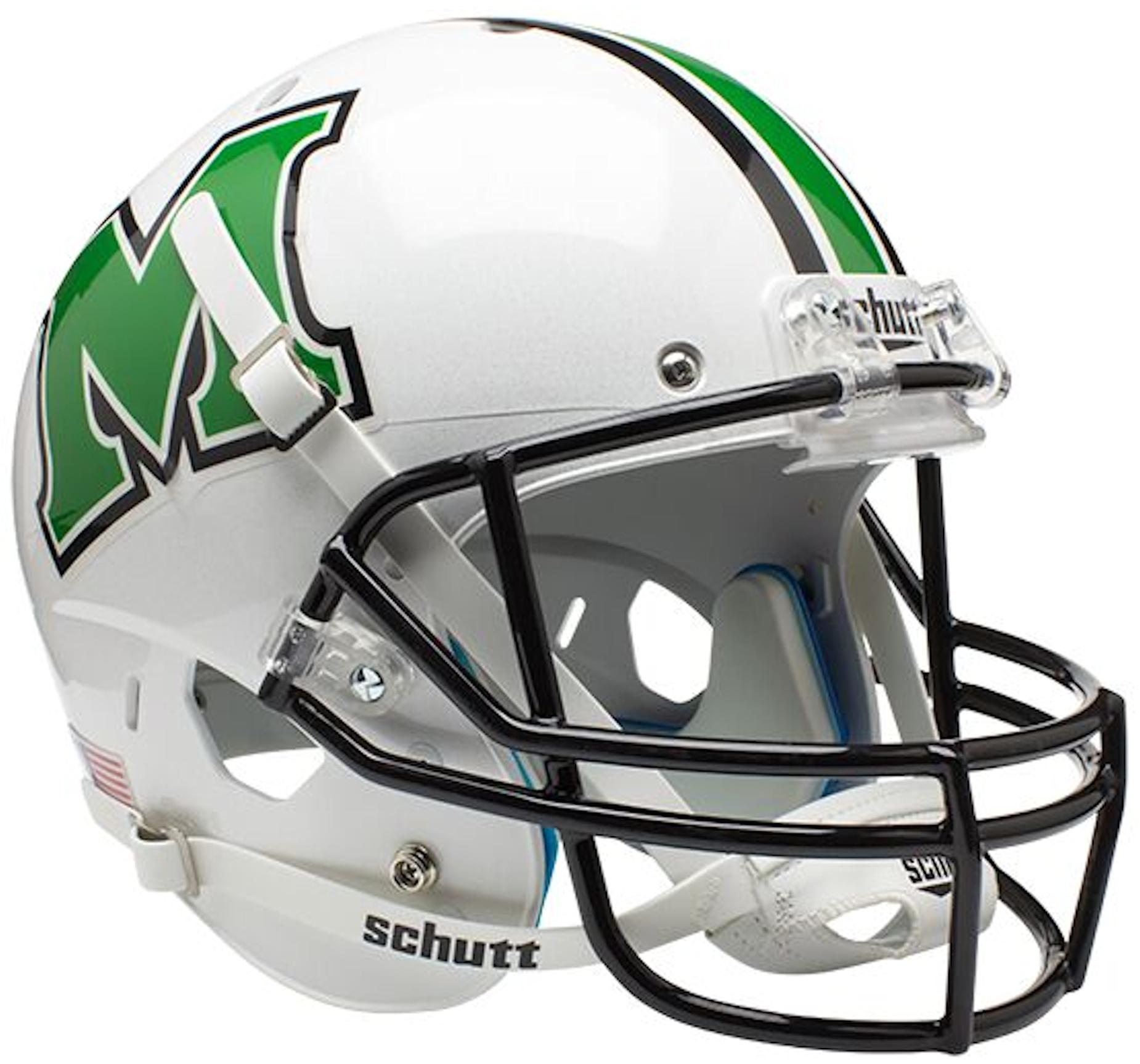 Marshall Thundering Herd Full XP Replica Football Helmet Schutt