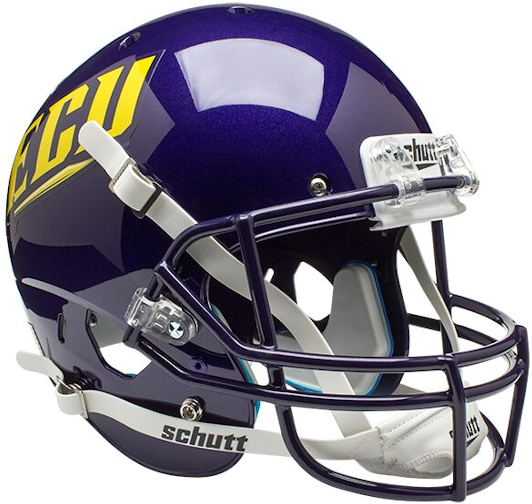 East Carolina Pirates Full XP Replica Football Helmet Schutt <B>ECU</B>