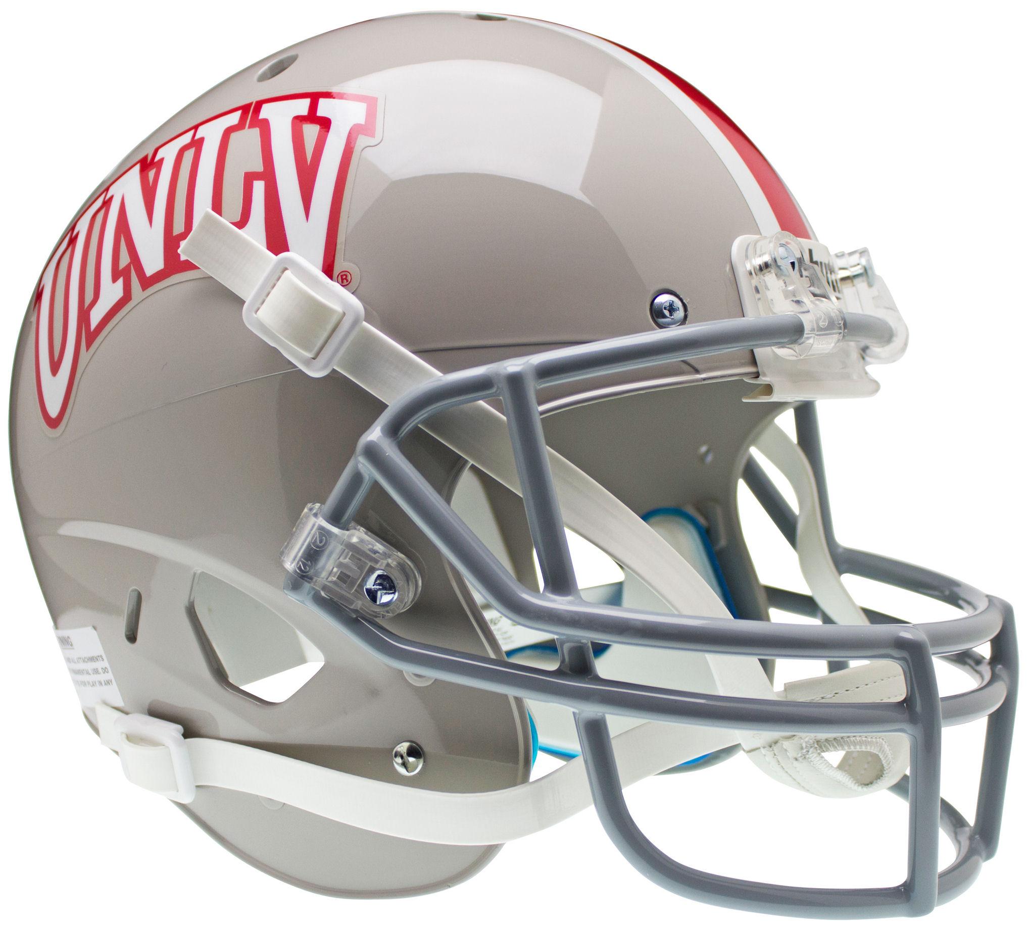 UNLV Runnin Rebels Full XP Replica Football Helmet Schutt