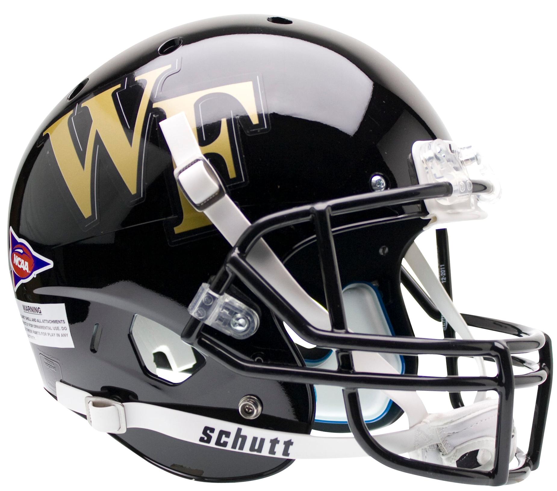 Wake Forest Demon Deacons Full XP Replica Football Helmet Schutt