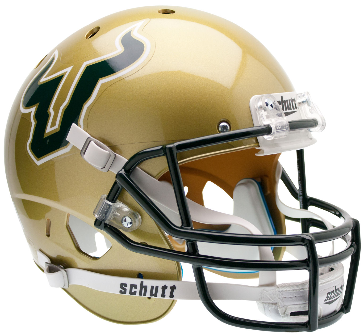 South Florida Bulls Full XP Replica Football Helmet Schutt