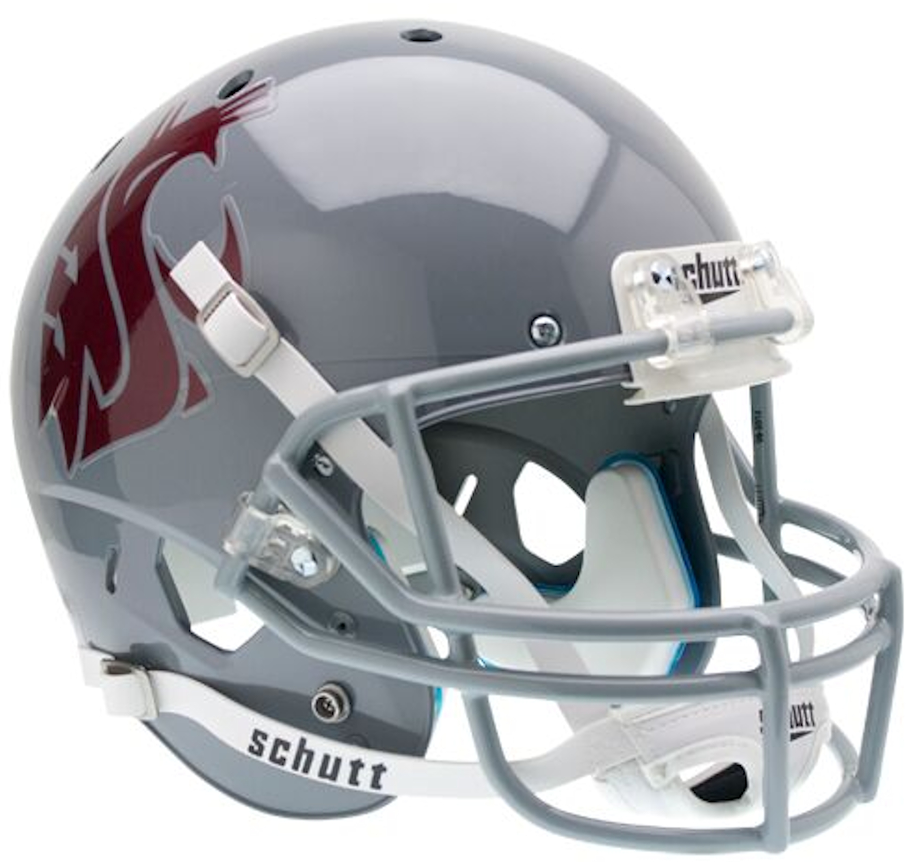 Washington State Cougars Full XP Replica Football Helmet Schutt