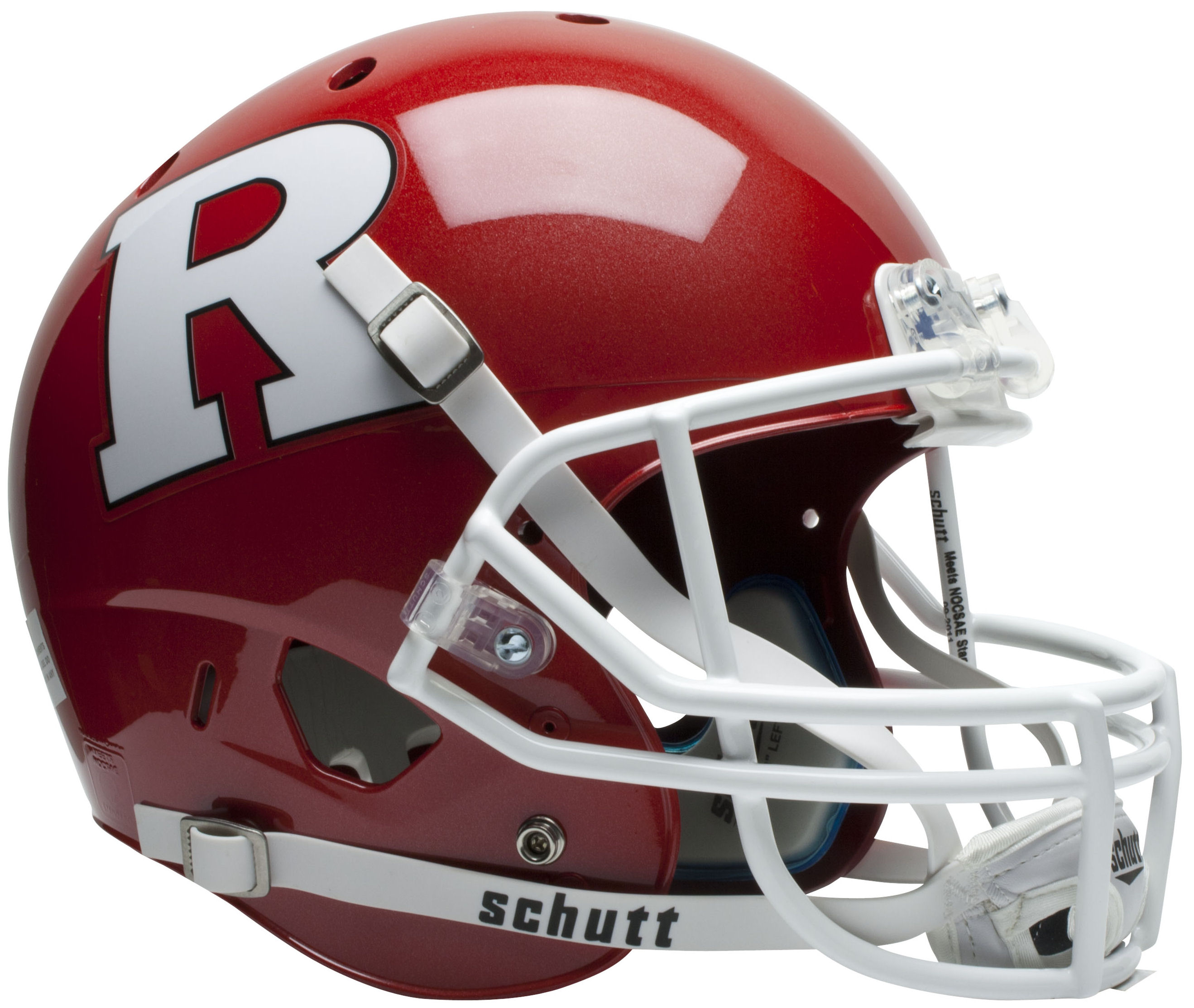 Rutgers Scarlet Knights Full XP Replica Football Helmet Schutt