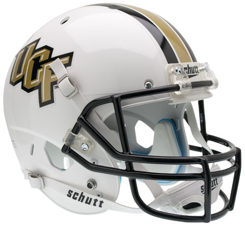 Central Florida Golden Knights Full XP Replica Football Helmet Schutt