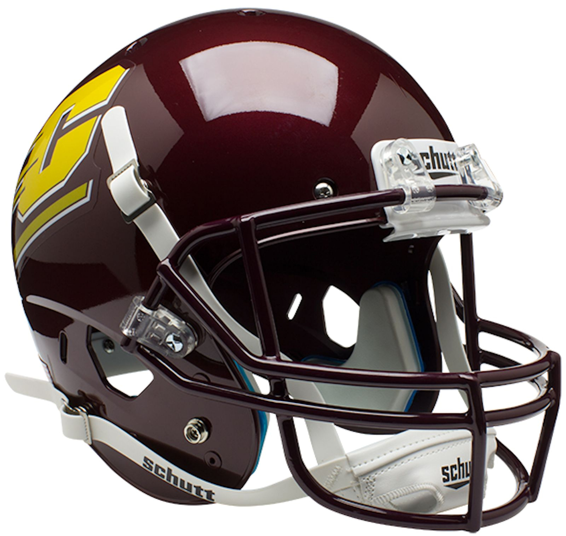 Central Michigan Chippewas Full XP Replica Football Helmet Schutt