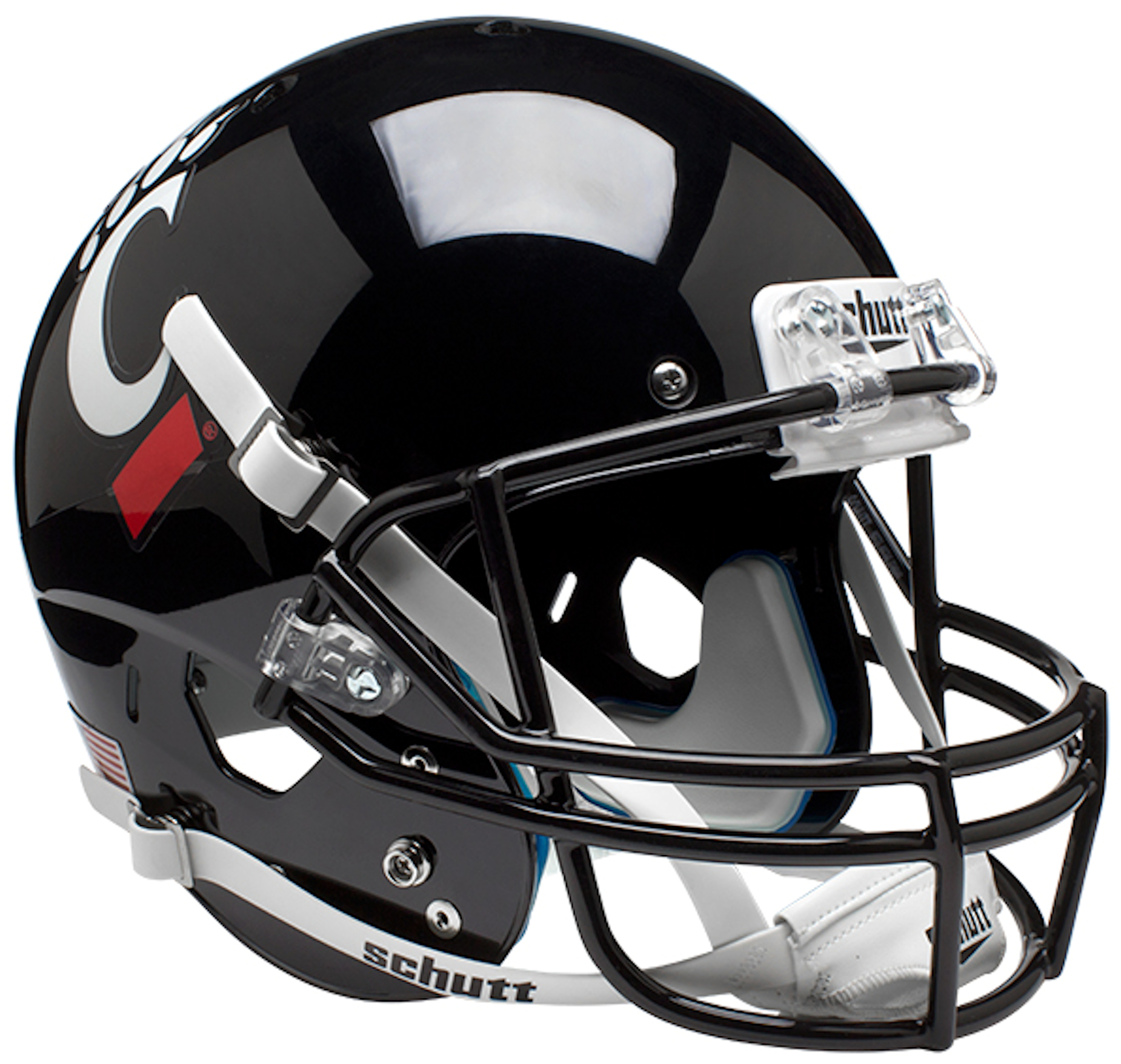 Cincinnati Bearcats Full XP Replica Football Helmet Schutt