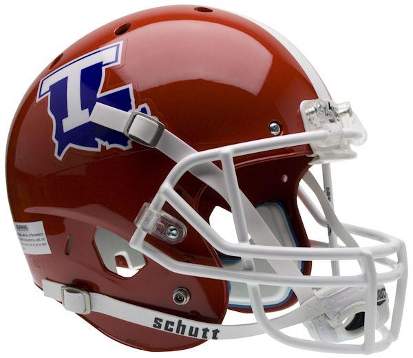 Louisiana Tech Bulldogs Full XP Replica Football Helmet Schutt