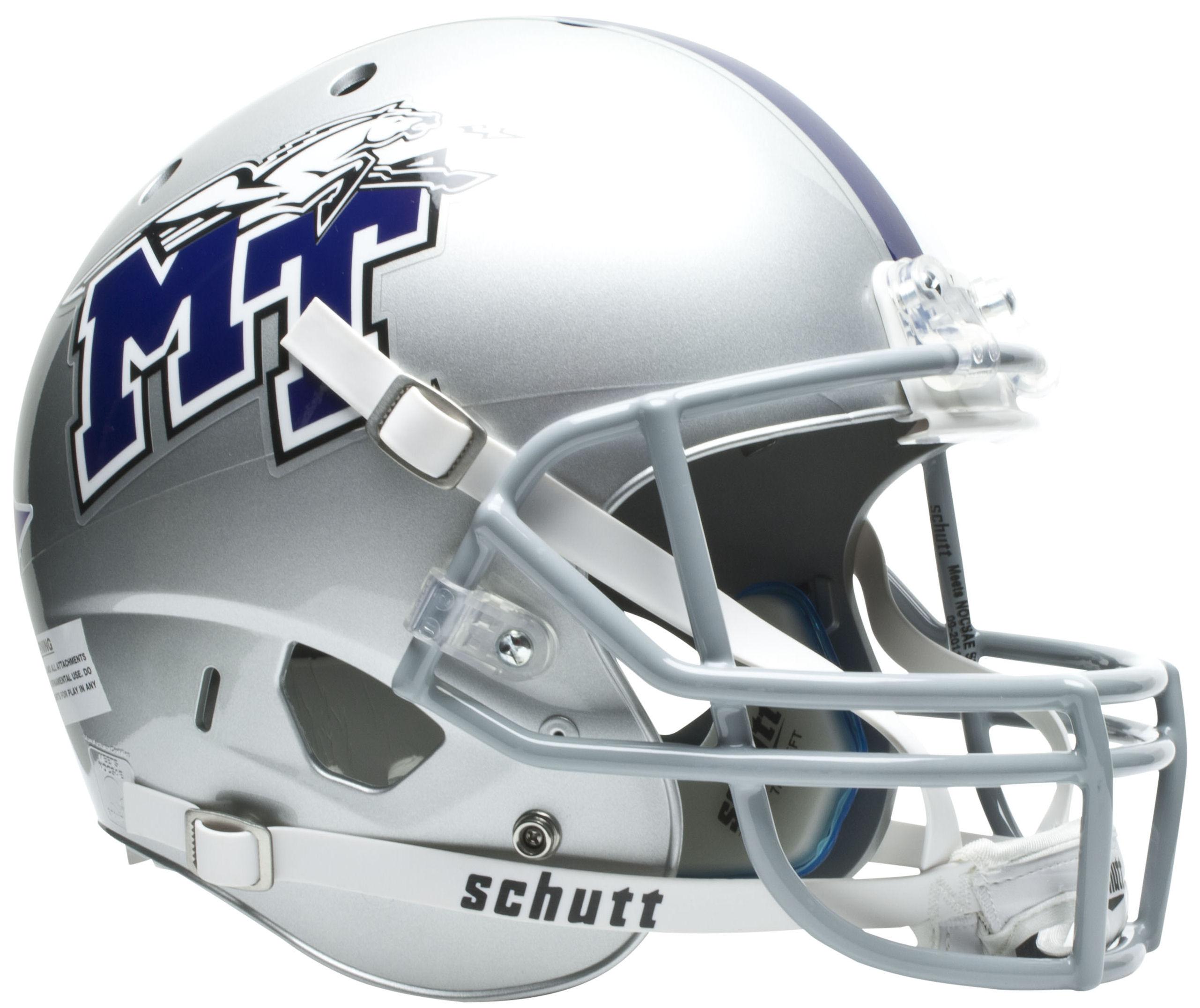 Middle Tennessee State Blue Raiders Full XP Replica Football Helmet Schutt