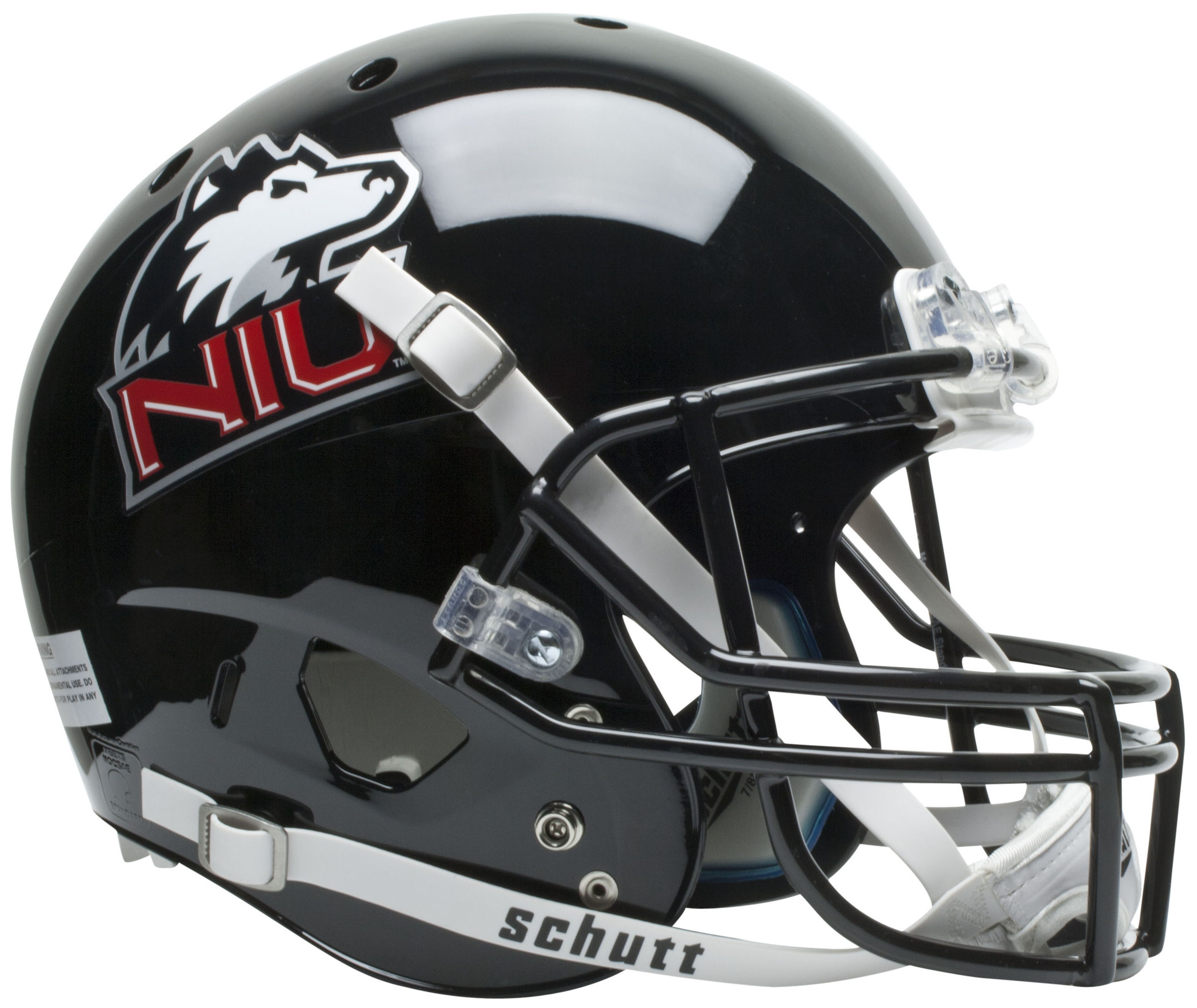 Northern Illinois Huskies Full XP Replica Football Helmet Schutt