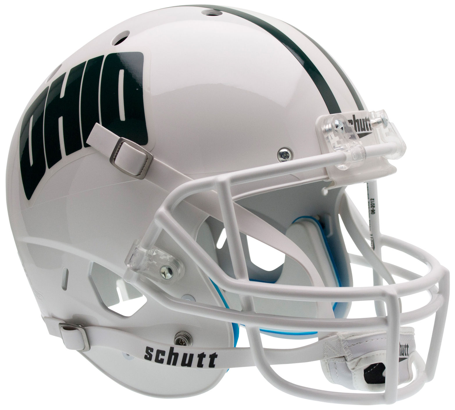 Ohio Bobcats Full XP Replica Football Helmet Schutt