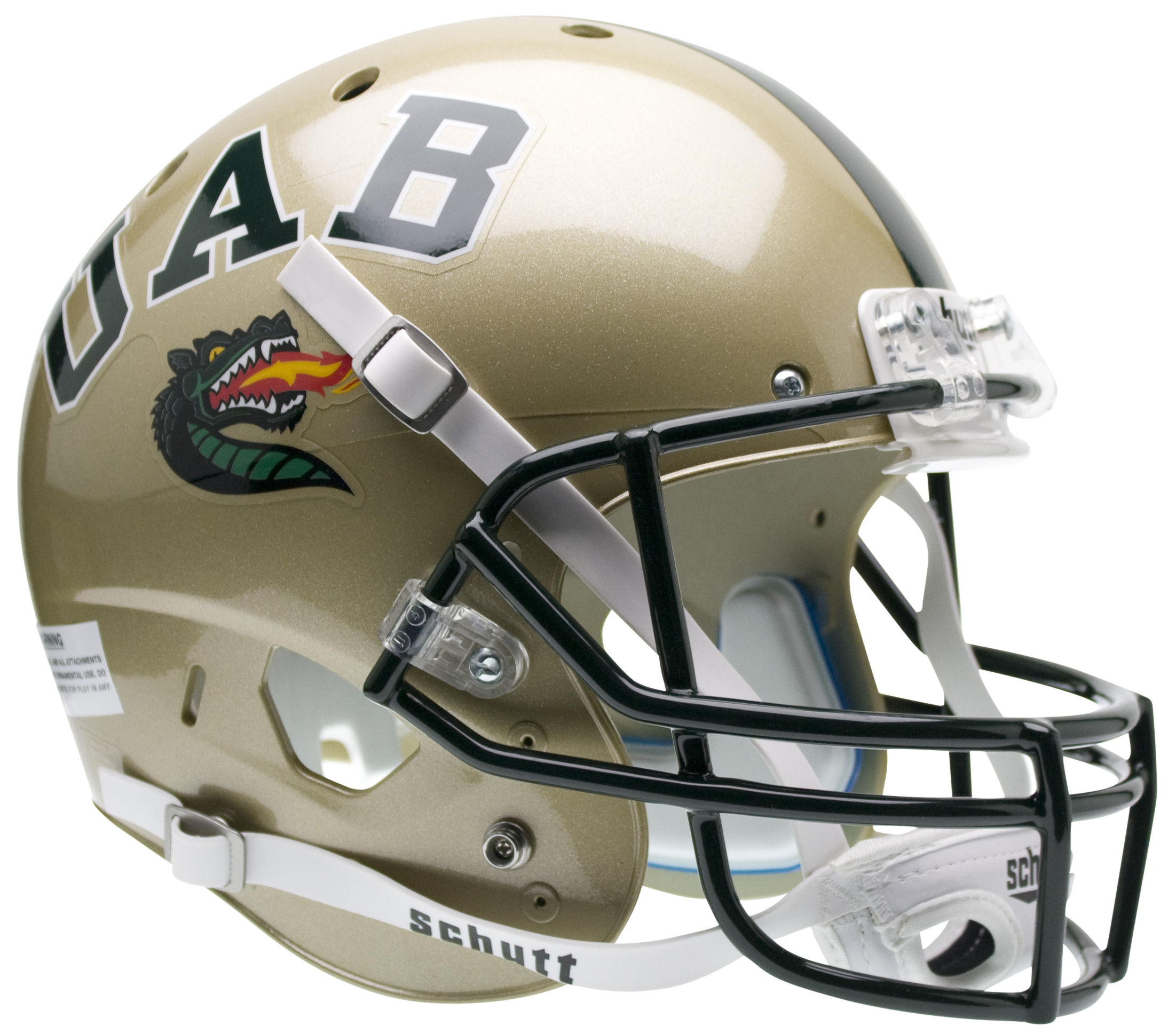 Alabama-Birmingham (UAB) Blazers Full XP Replica Football Helmet Schutt