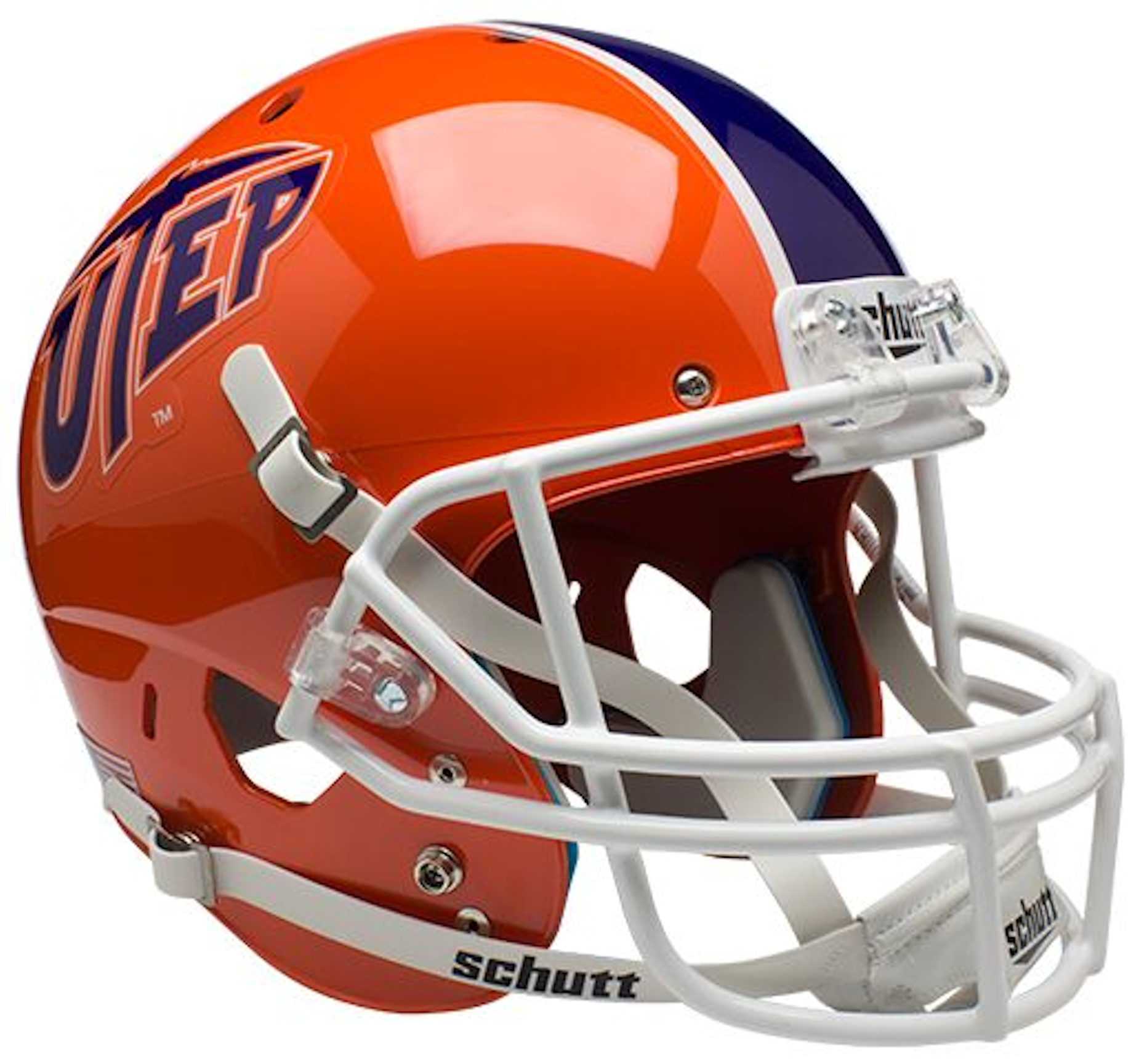 UTEP Miners Full XP Replica Football Helmet Schutt