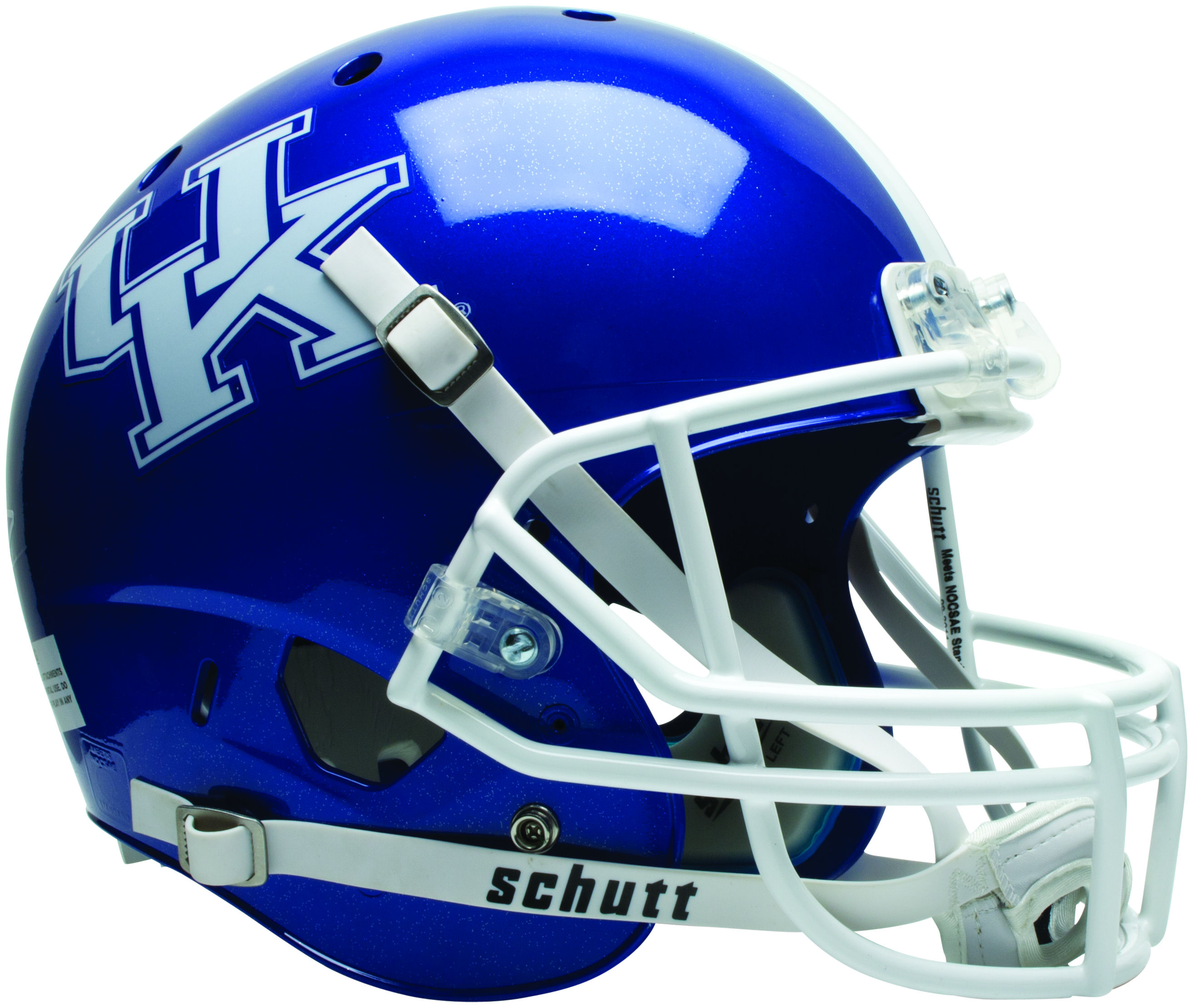Kentucky Wildcats Full XP Replica Football Helmet Schutt