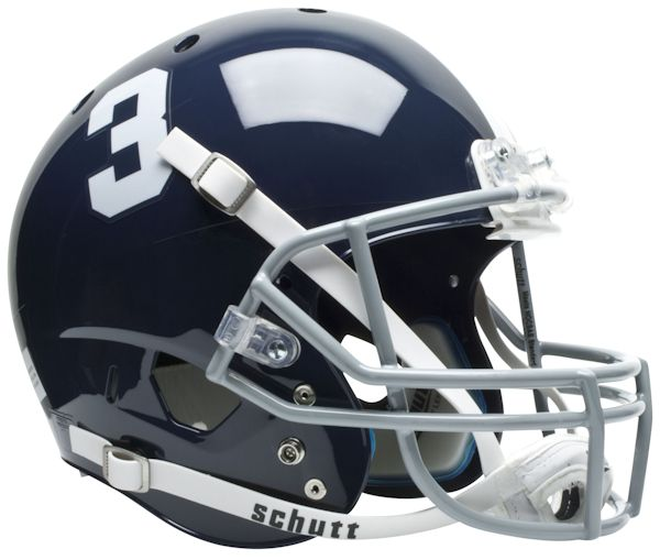 Georgia Southern Eagles Full XP Replica Football Helmet Schutt
