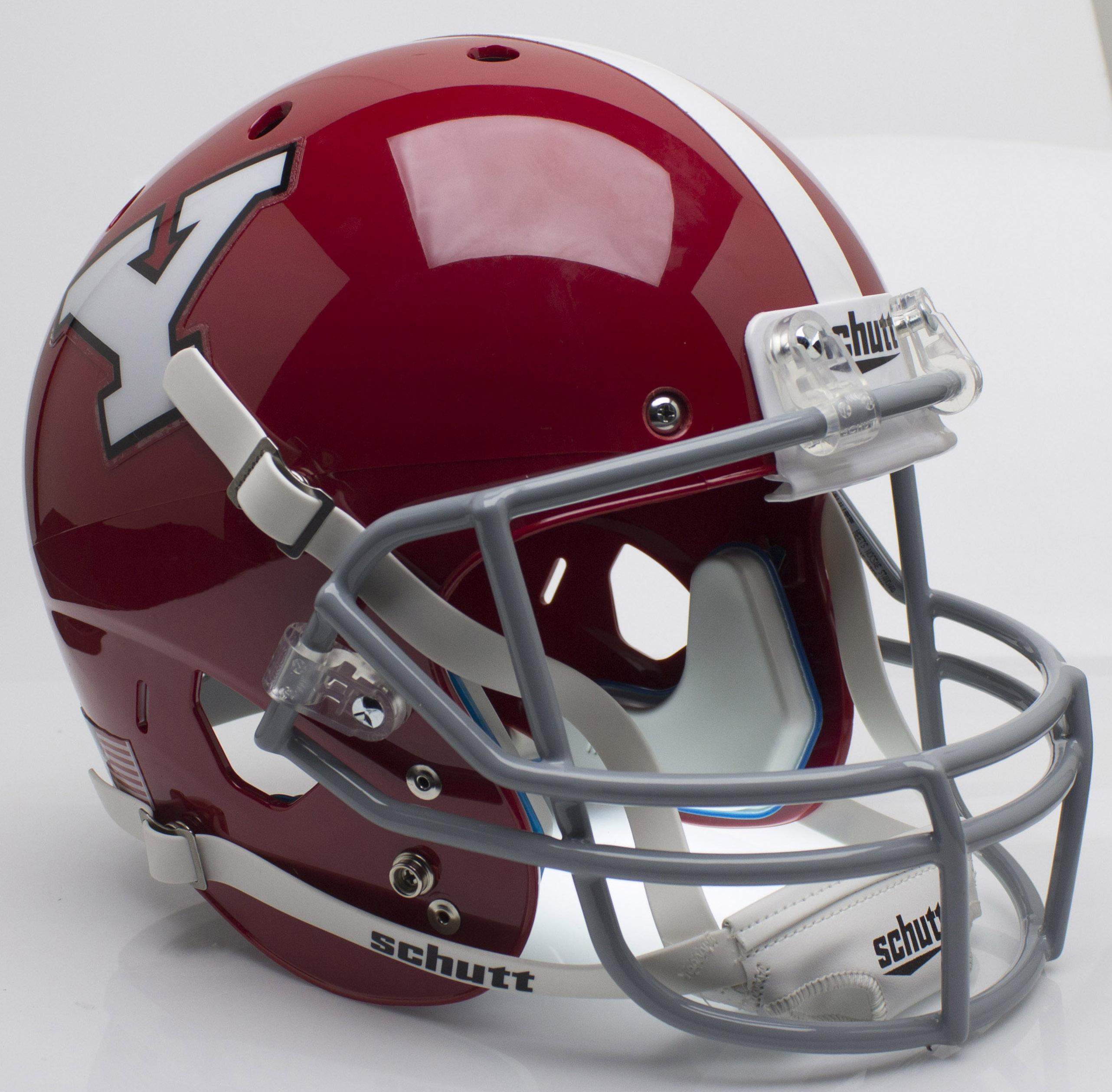 Youngstown State Penguins Full XP Replica Football Helmet Schutt