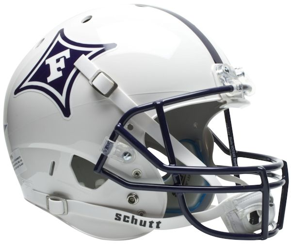 Furman Paladins Full XP Replica Football Helmet Schutt