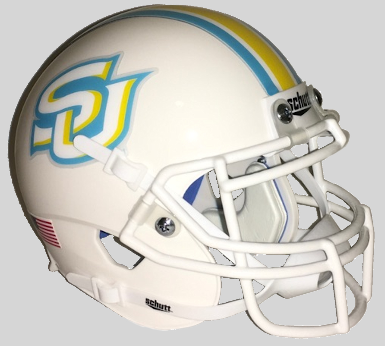 Southern Jaguars Full XP Replica Football Helmet Schutt