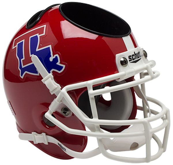 Louisiana Tech Bulldogs Miniature Football Helmet Desk Caddy