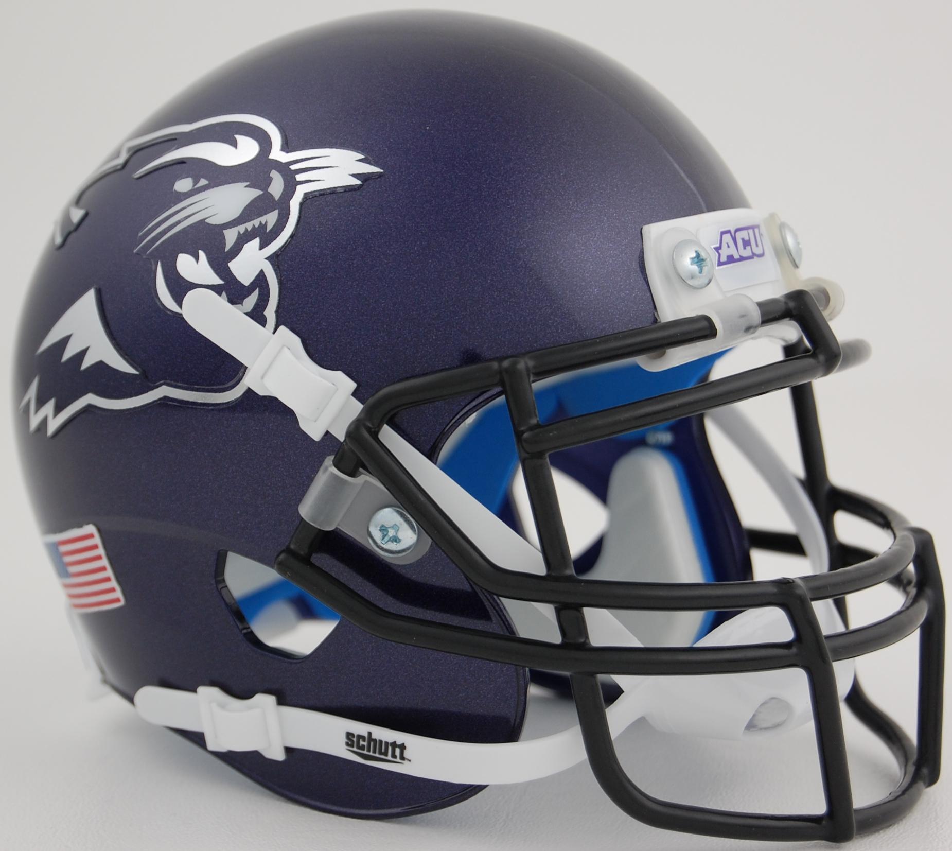 Abilene Christian Wildcats Full XP Replica Football Helmet Schutt