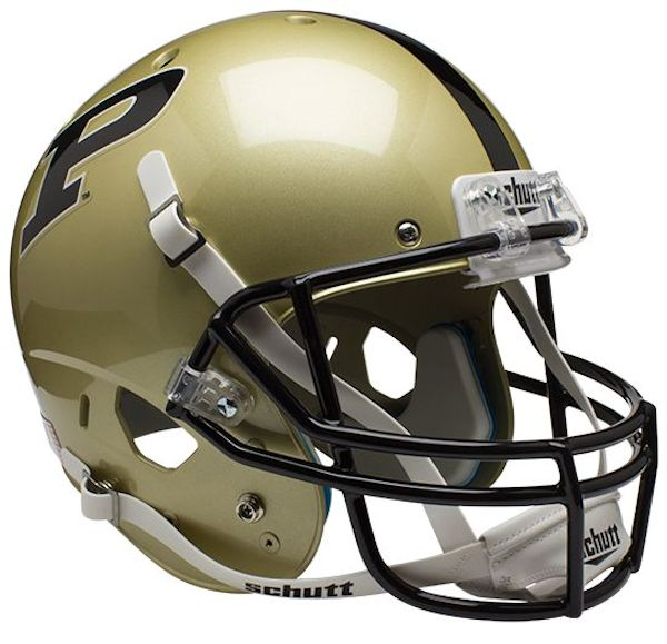 Purdue Boilermakers Full XP Replica Football Helmet Schutt