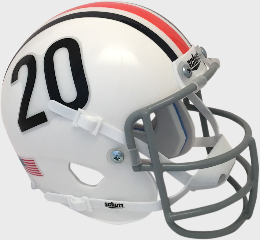 Auburn Tigers 1961 to 1965 Schutt Mini Authentic Throwback Helmet