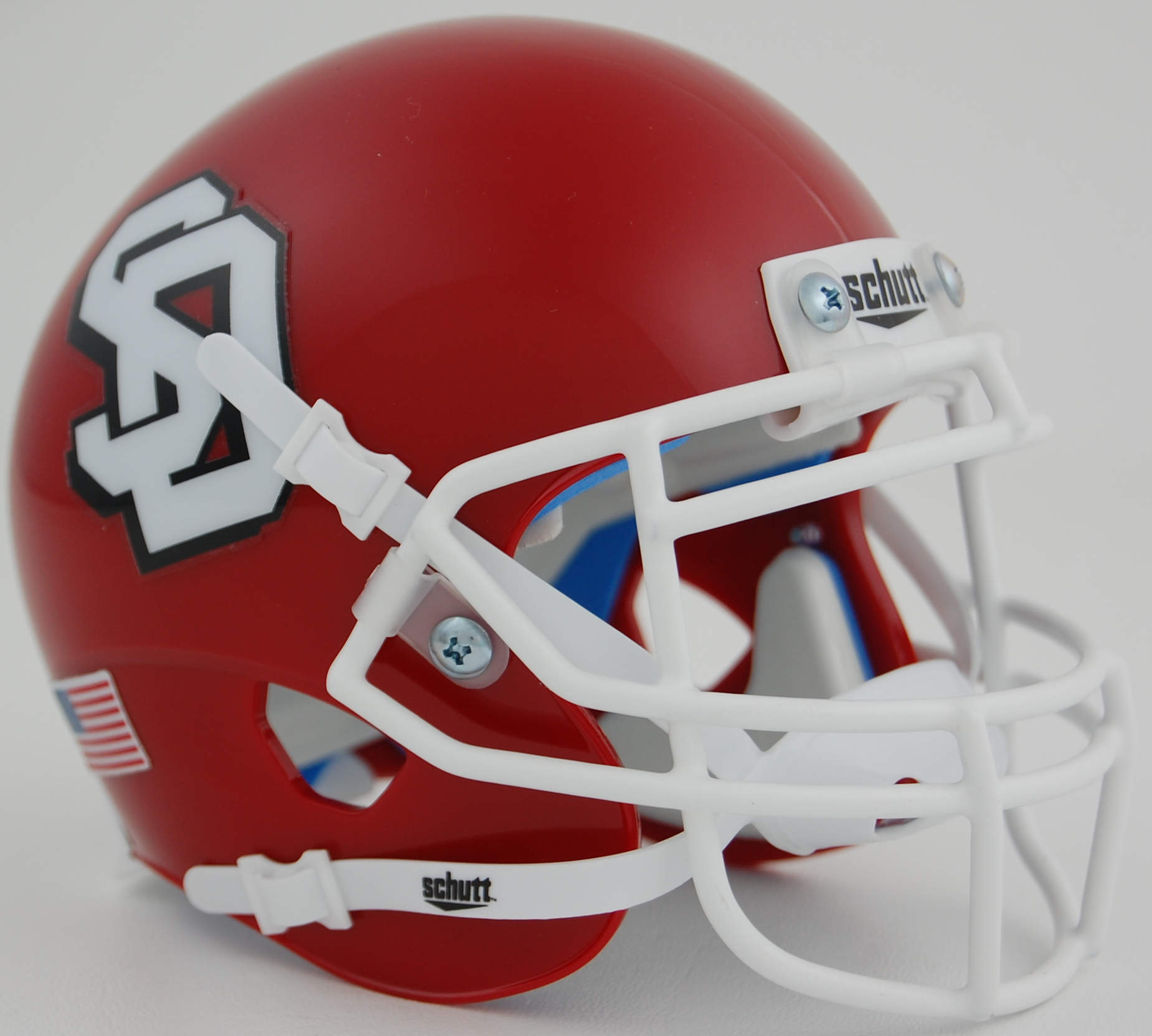South Dakota Coyotes Authentic College XP Football Helmet Schutt
