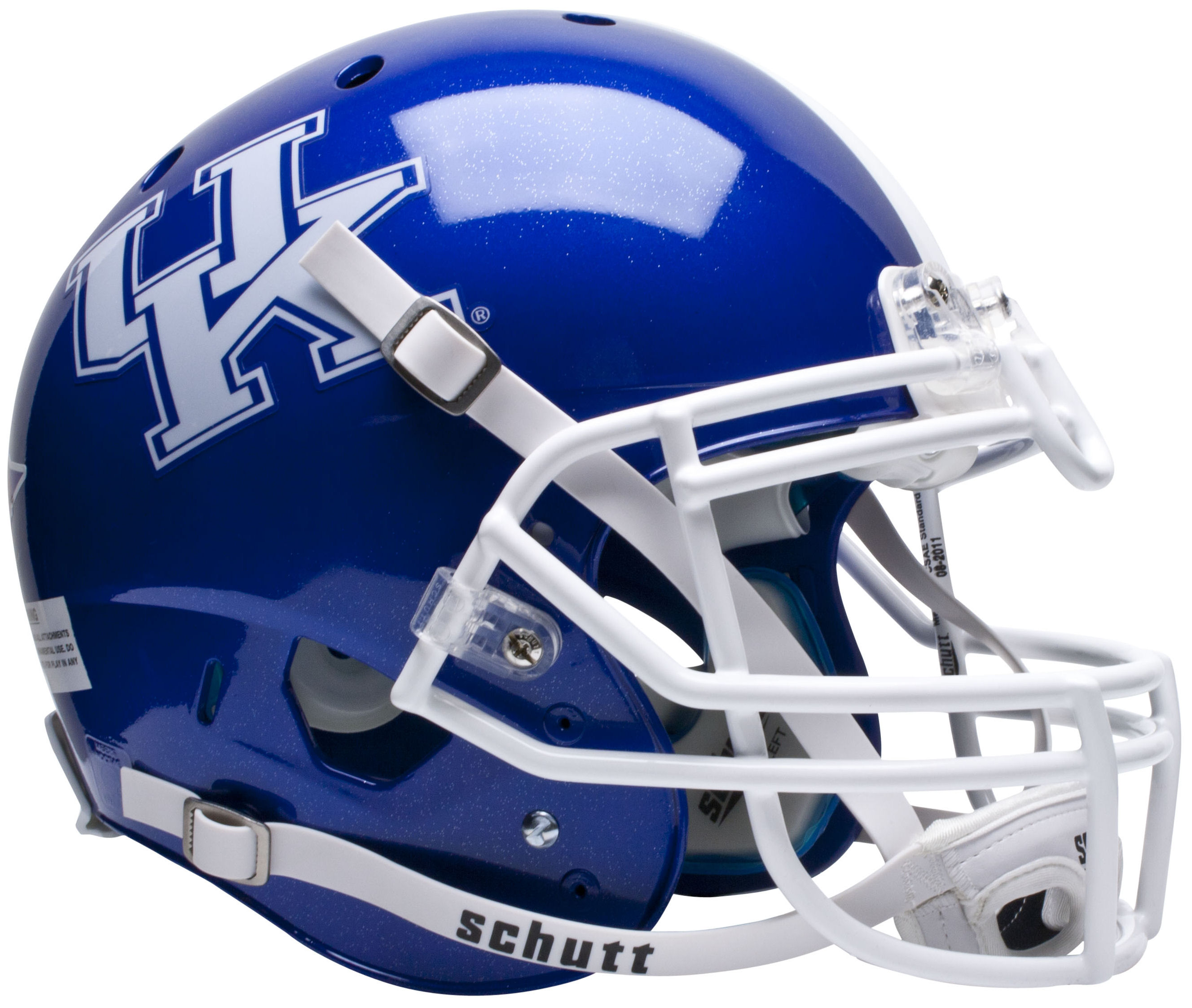 Kentucky Wildcats Authentic College XP Football Helmet Schutt