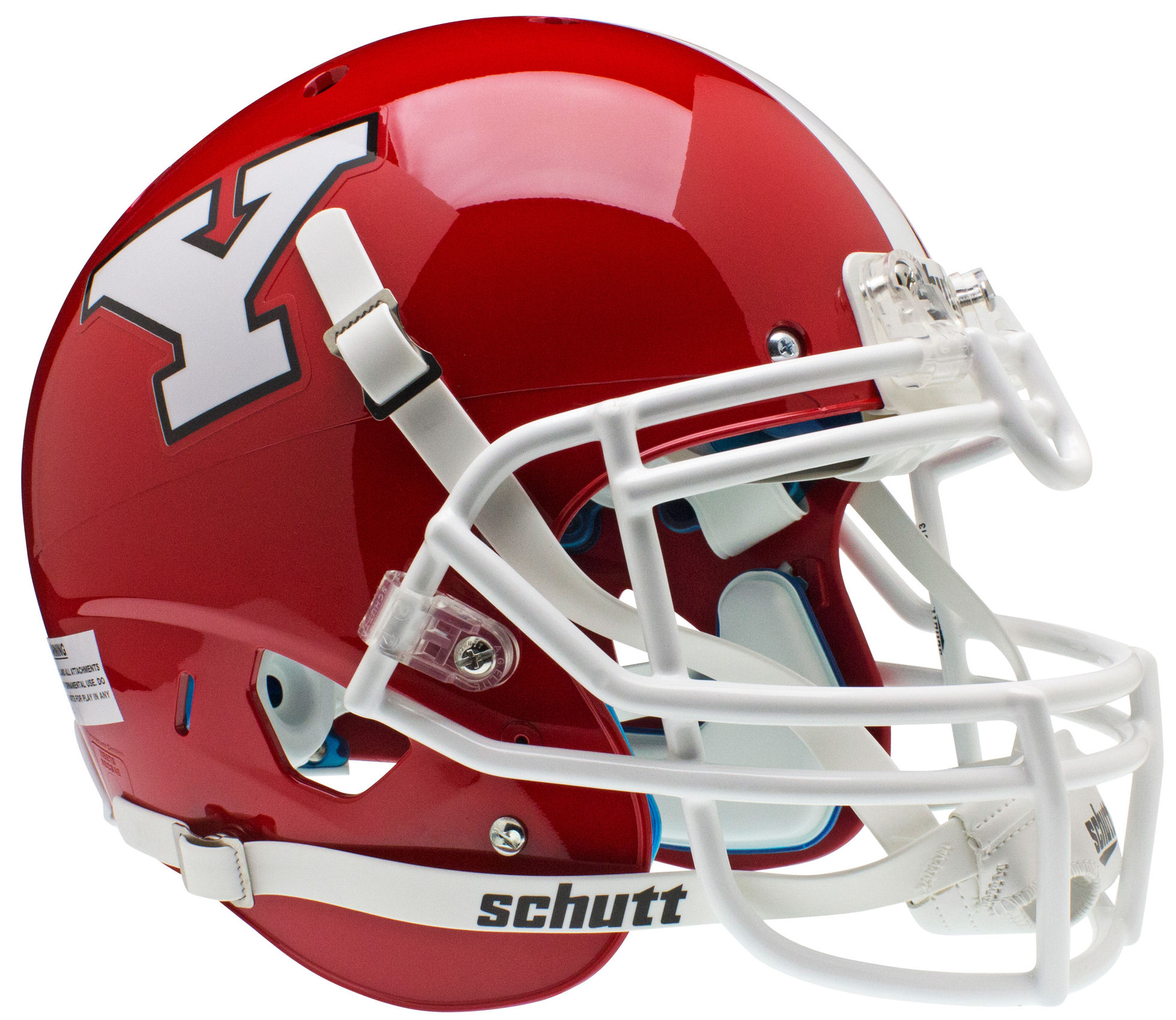Youngstown State Penguins Authentic College XP Football Helmet Schutt