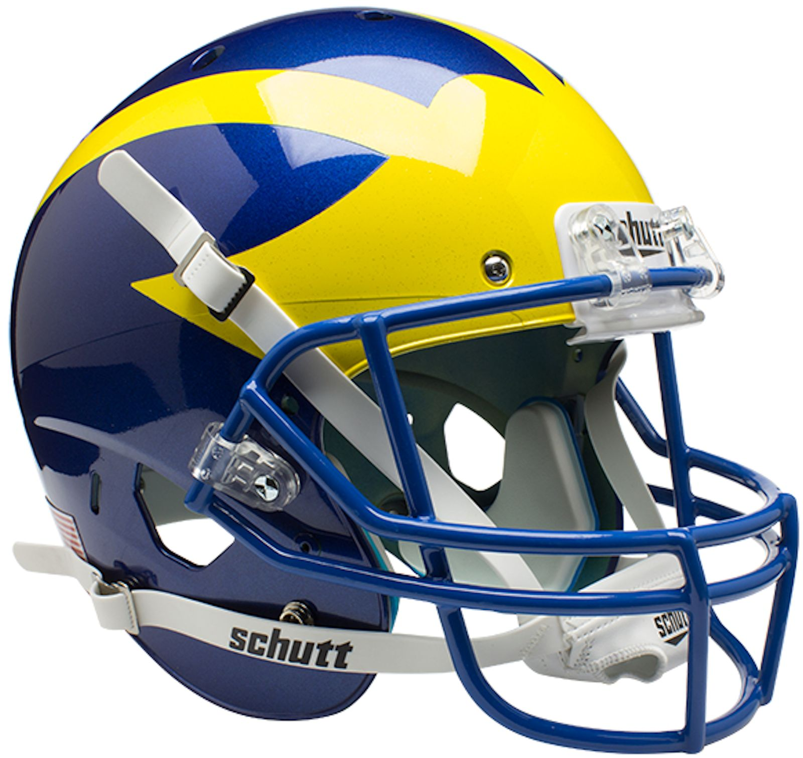 Delaware Blue Hens Full XP Replica Football Helmet Schutt