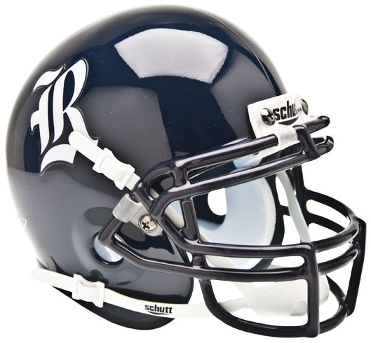Rice Owls Mini XP Authentic Helmet Schutt