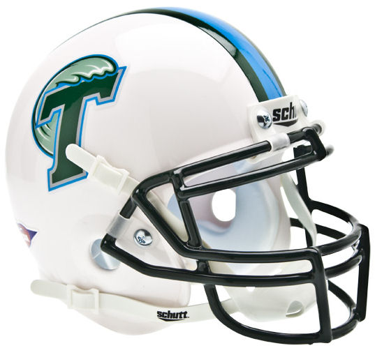 Tulane Green Wave Mini XP Authentic Helmet Schutt