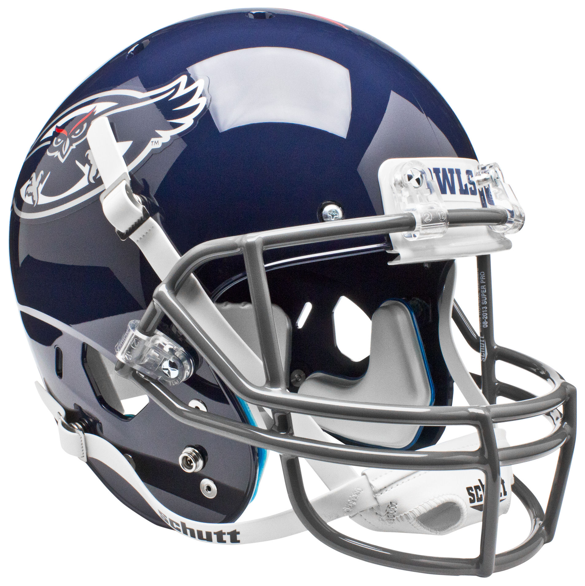 Florida Atlantic Owls Full XP Replica Football Helmet Schutt