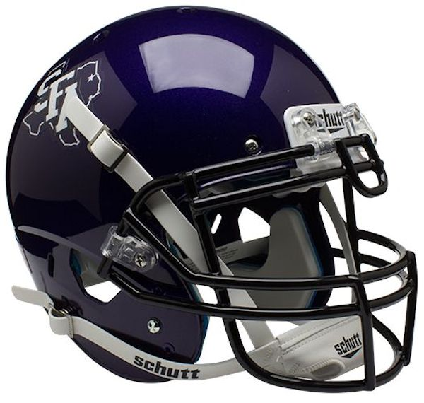 Stephen F Austin Authentic College XP Football Helmet Schutt