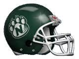 Northwest Missouri State Bearcats Full XP Replica Football Helmet Schutt <B>Green</B>