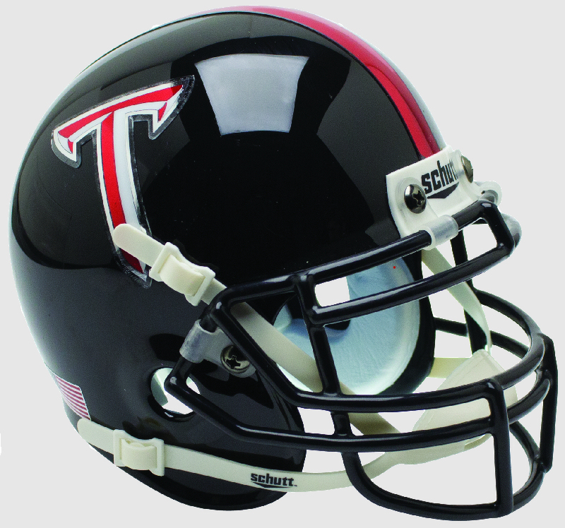 Troy State Trojans Miniature Football Helmet Desk Caddy <B>Black</B>