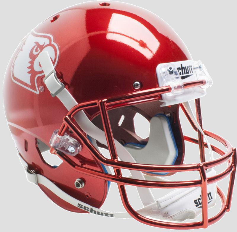 Louisville Cardinals Full XP Replica Football Helmet Schutt <B>Red Chrome</B>