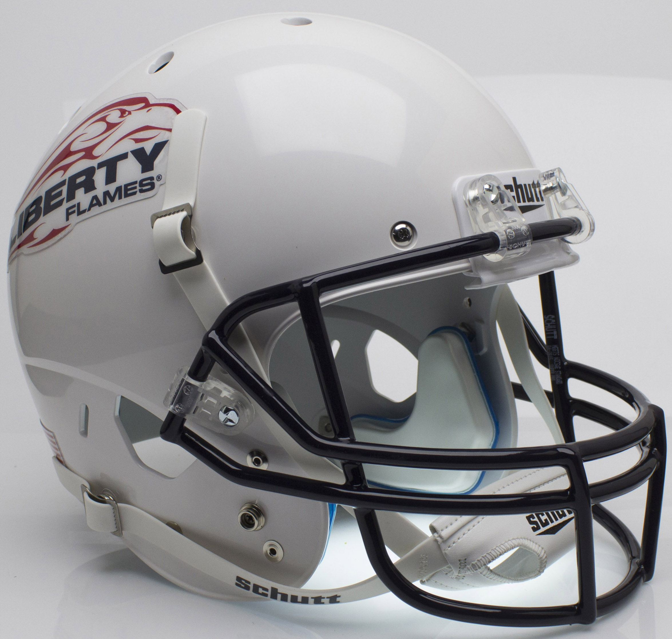 Liberty Flames Full XP Replica Football Helmet Schutt