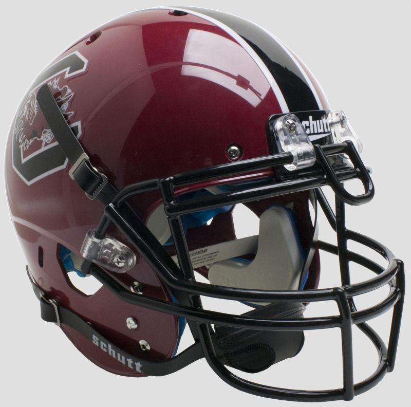 South Carolina Gamecocks Authentic College XP Football Helmet Schutt <B>Maroon</B>