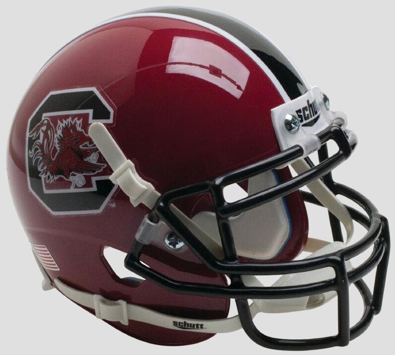 South Carolina Gamecocks Mini XP Authentic Helmet Schutt <B>Maroon</B>