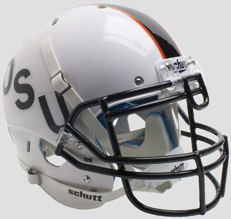 Oklahoma State Cowboys Authentic College XP Football Helmet Schutt <B>Black OSU</B>
