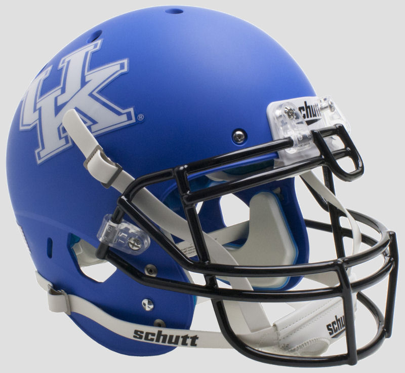 Kentucky Wildcats Authentic College XP Football Helmet Schutt <B>Matte Royal</B>
