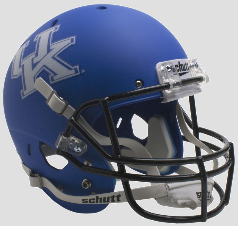 Kentucky Wildcats Full XP Replica Football Helmet Schutt <B>Matte Royal</B>