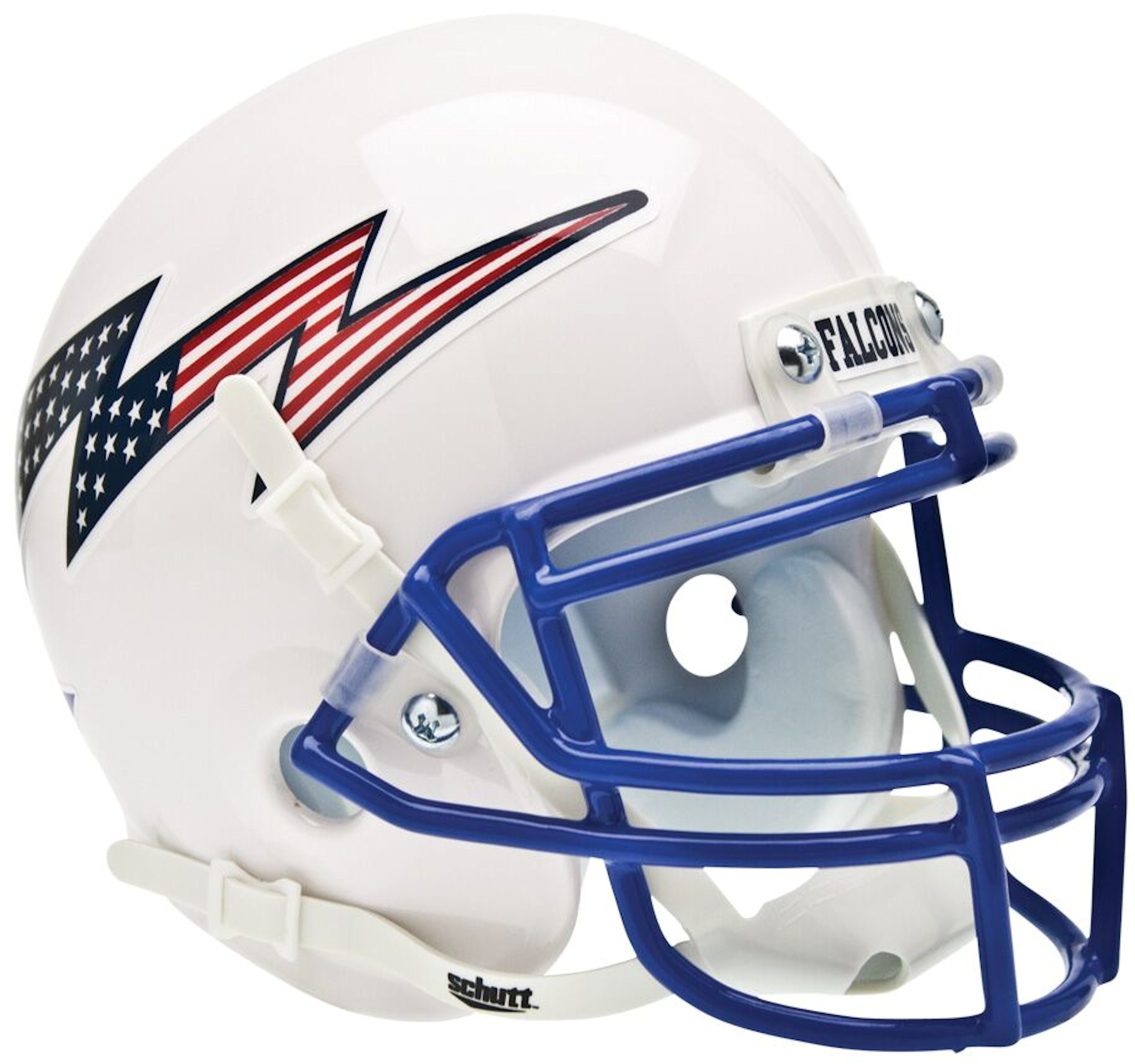 Air Force Falcons Mini XP Helmet <B>Flag Bolt</B>