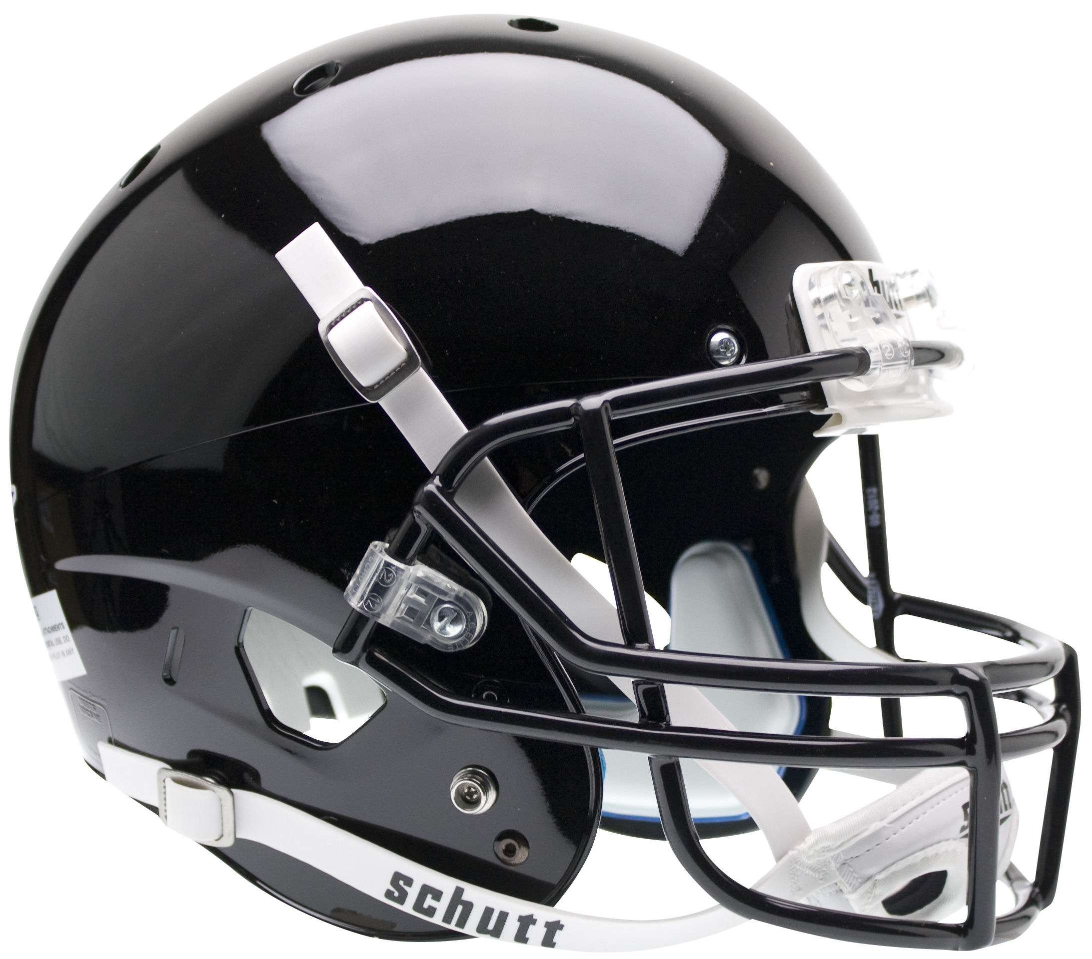 Army Black Knights Full XP Replica Football Helmet Schutt <B>Black</B>