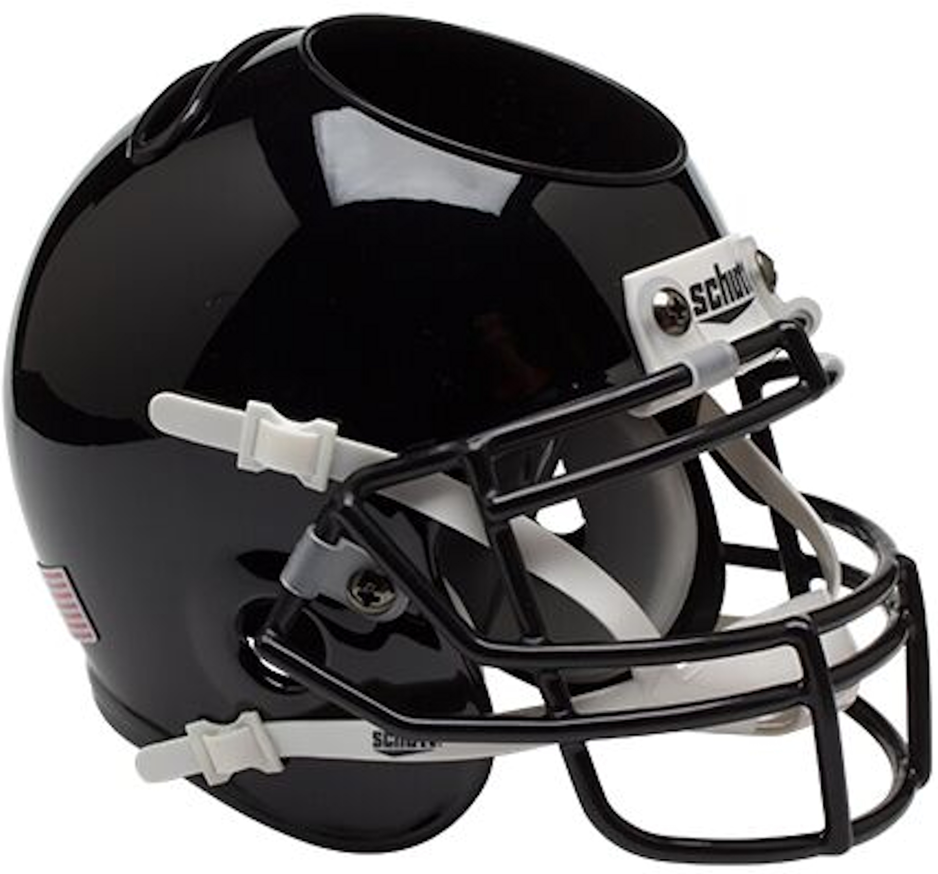 Army Black Knights Mini Football Helmet Desk Caddy <B>Black</B>