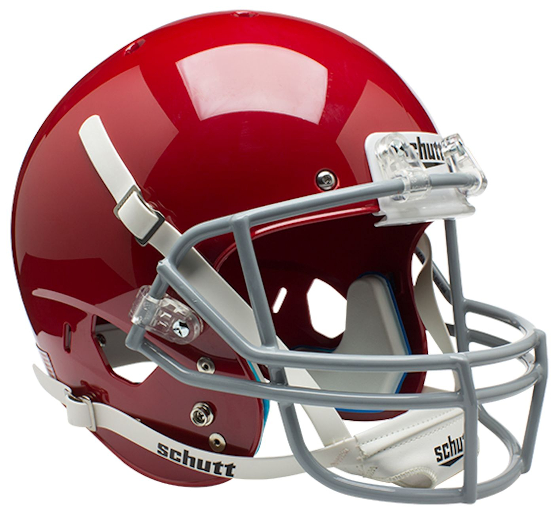 Ohio State Buckeyes Full XP Replica Football Helmet Schutt <B>Scarlet</B>