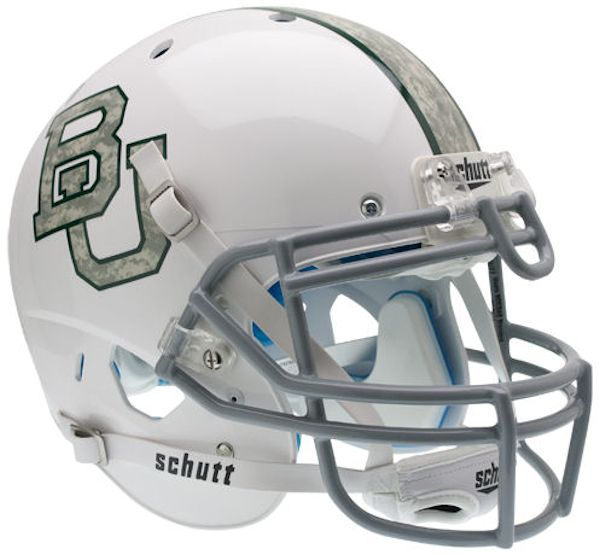 Baylor Bears Authentic College XP Football Helmet Schutt <B>Camo</B>