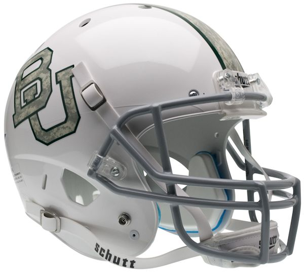 Baylor Bears Full XP Replica Football Helmet Schutt <B>Camo</B>