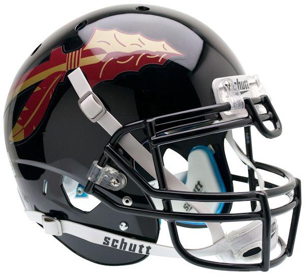 Florida State Seminoles Authentic College XP Football Helmet Schutt <B>Black</B>